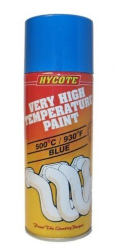 Very High Temperature Paint VHT Hycote Paint Blue 400ml